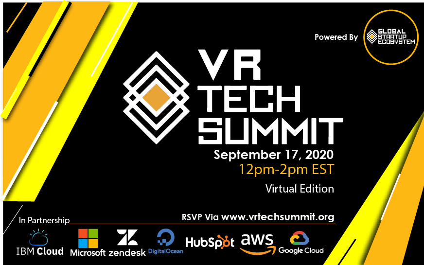 Global Startup Ecosystem Announces the 2nd Annual VR Tech Summit in Partnership with Microsoft